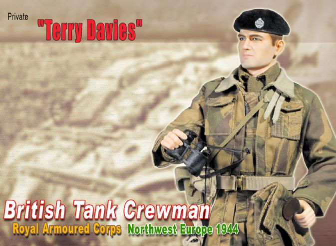 Terry Davies Private British Tank Crewman - Royal Armoured Corps